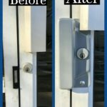 Latch protector installation
